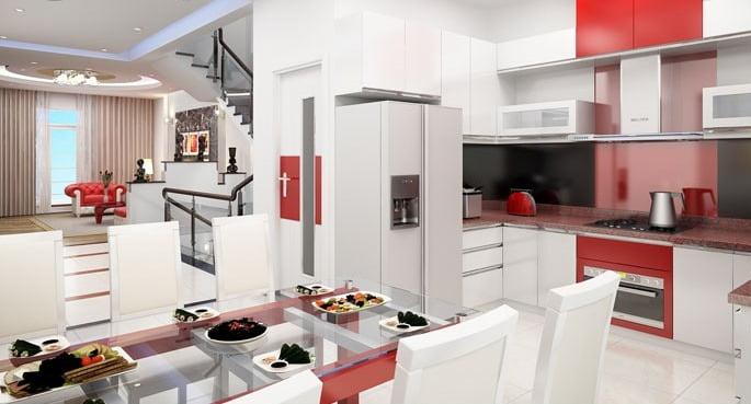 Thiết kế nội thất phong cách hiện đại 80m2