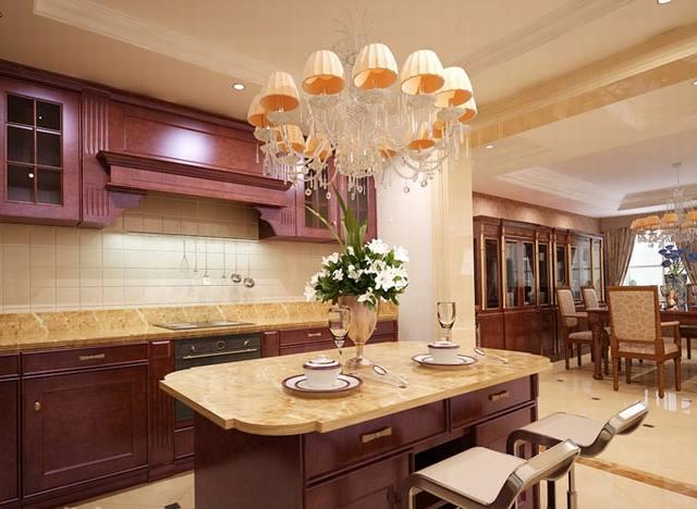 Phong thủy phòng bếp cổ điển