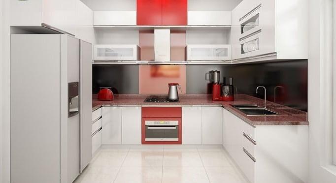 Phòng bếp nhà ngang 5m