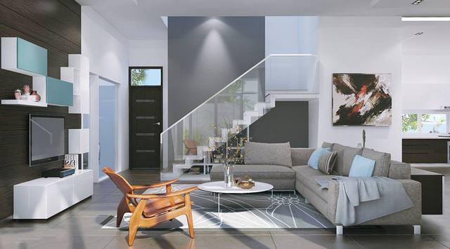 Thiết kế nội thất biệt thự hiện đại 12x21m đẹp