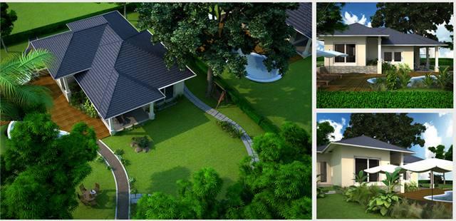 kiến trúc cảnh quan sân vườn đẹp