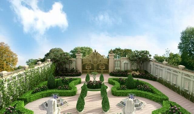 Thiết kế nhà vườn đẹp 2002