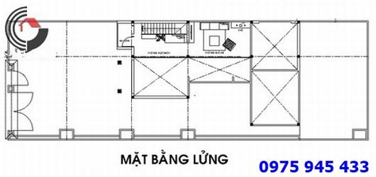 ban ve nha cap 4 8x20m mat bang lung
