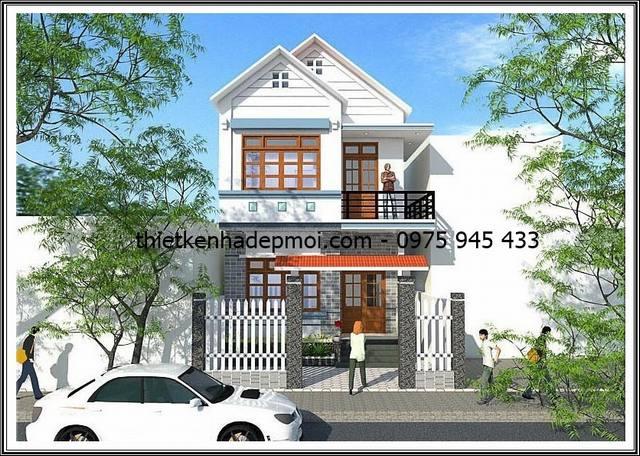 Nhà đẹp 6x19m