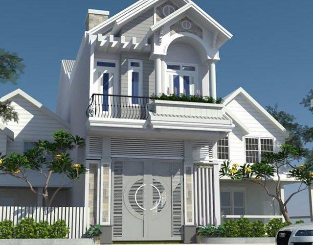 Thiết kế nhà phố 5x20 1 trệt 1 lầu