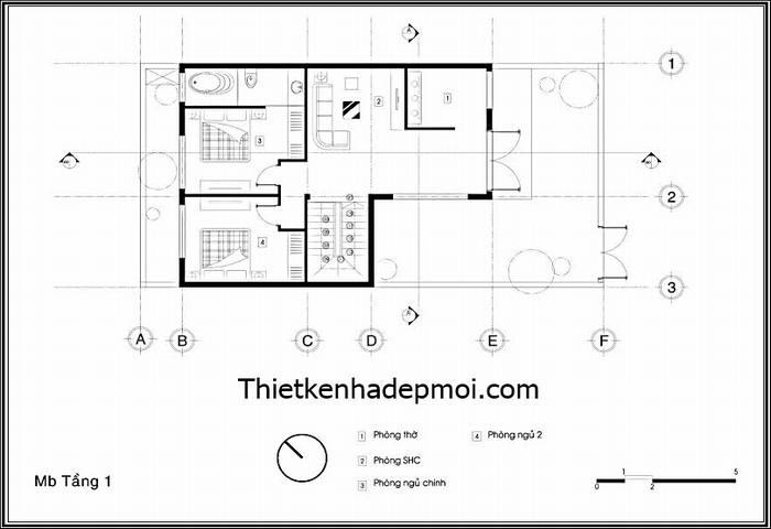 thiết kế nhà 2 tầng 8x16m, Mẫu thiết kế nhà phố 2 tầng hiện đại 8x16m đẹp, Công ty thiết kế xây dựng Nhà Đẹp Mới, Công ty thiết kế xây dựng Nhà Đẹp Mới