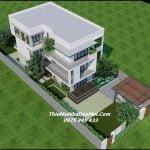 Bản vẽ thiết kế nhà 3 tầng 7x15m