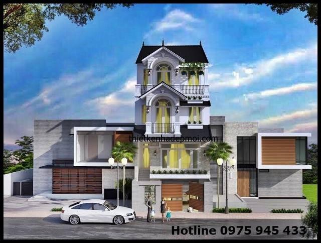 Thiết kế nhà 4 tầng 6x15