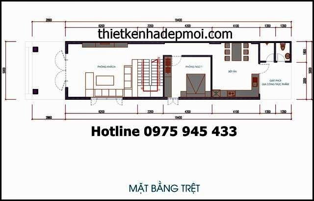 ban ve nha 2 tang mai thai 5x20 dep 2015