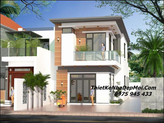 Nhà 2 tầng đơn giản 100m2