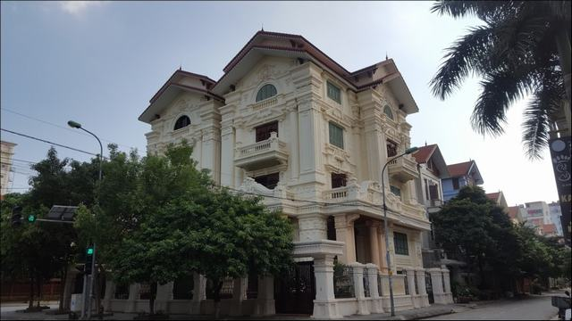 Thi công biệt thự tân cổ điển 4 tầng