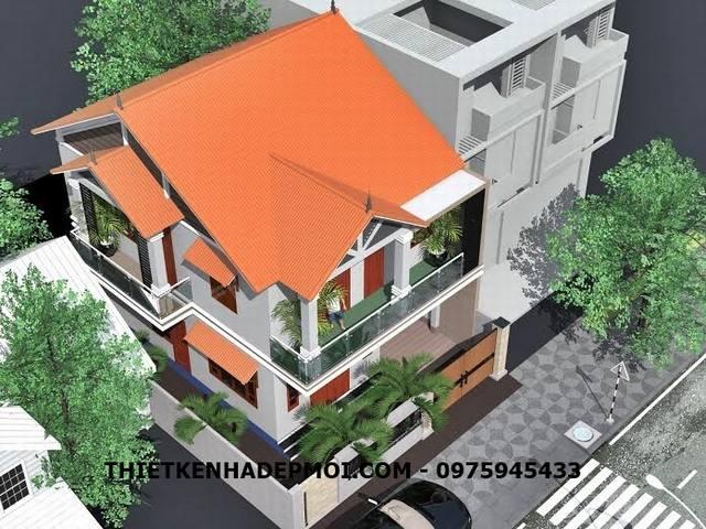 nhà phố 2 tầng 8x11