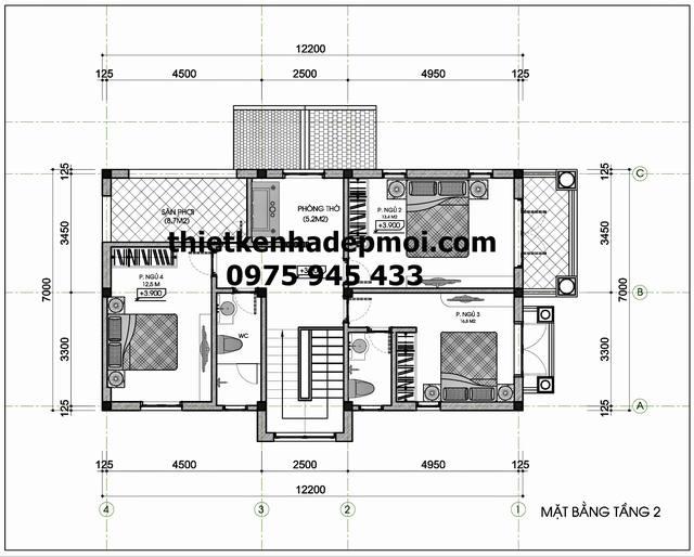 nhà đẹp 1 trệt 1 lầu 7x12m
