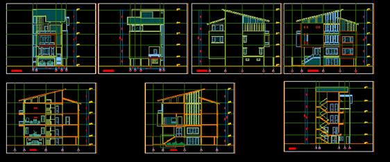 Bản thiết kế biệt thự 3 tầng 8m