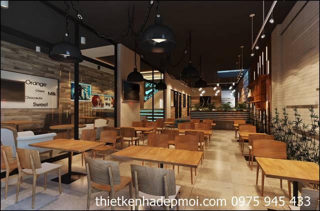 Thiết kế không gian quán cafe giá rẻ 2021
