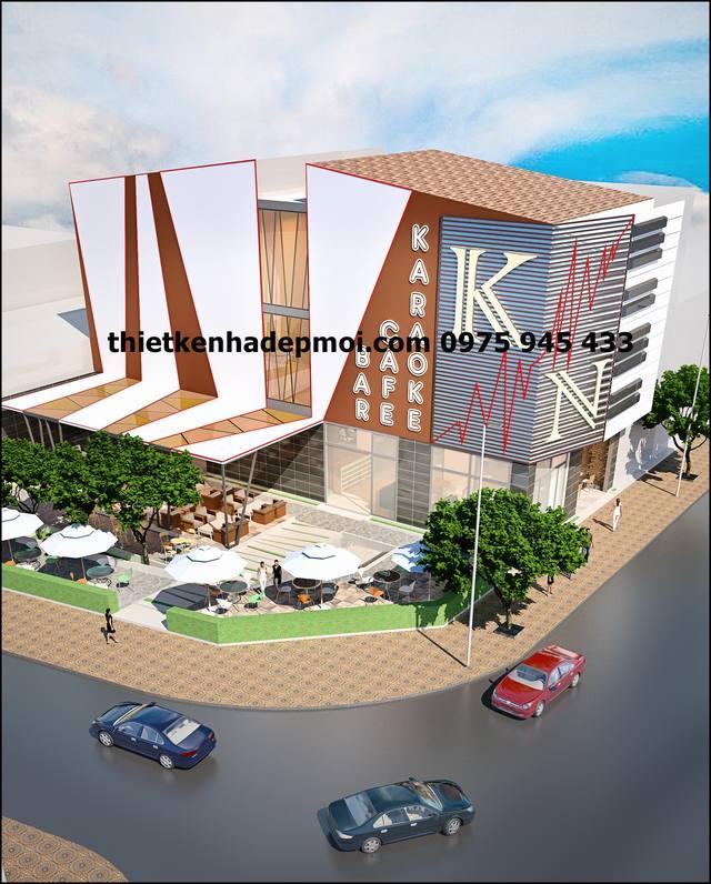 Hình ảnh thiết kế quán cà phê 180m2 sân vườn ở Tiền Giang
