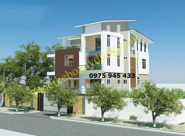 Góc view 5 mẫu thiết kế nhà biệt thự phố 4 tầng phong cách hiện đại đẹp kiến trúc mở châu âu