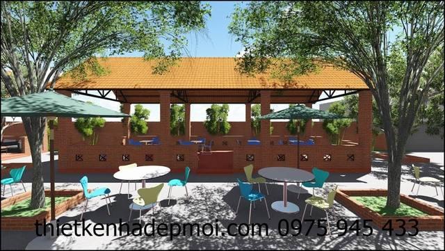 Hình ảnh quán cafe vườn đẹp chú Tưởng Cô Hồng ở Krông Năng