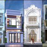 Những mẫu nhà 2 tầng mặt tiền 4m giá rẻ