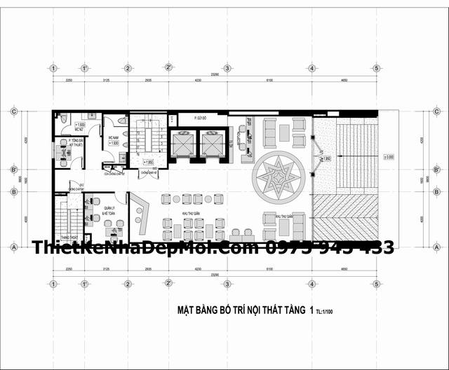 Tư vấn thiết kế khách sạn 3 sao