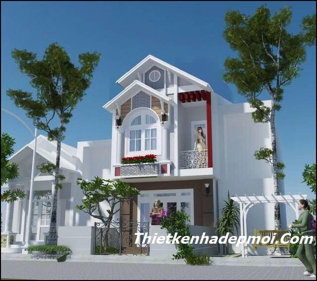 xây nhà phố đẹp 4m Biên hòa