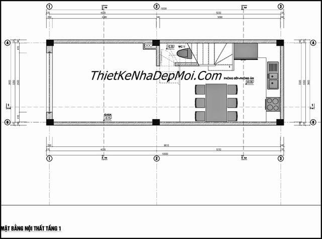 Thiết kế nhà 35m2