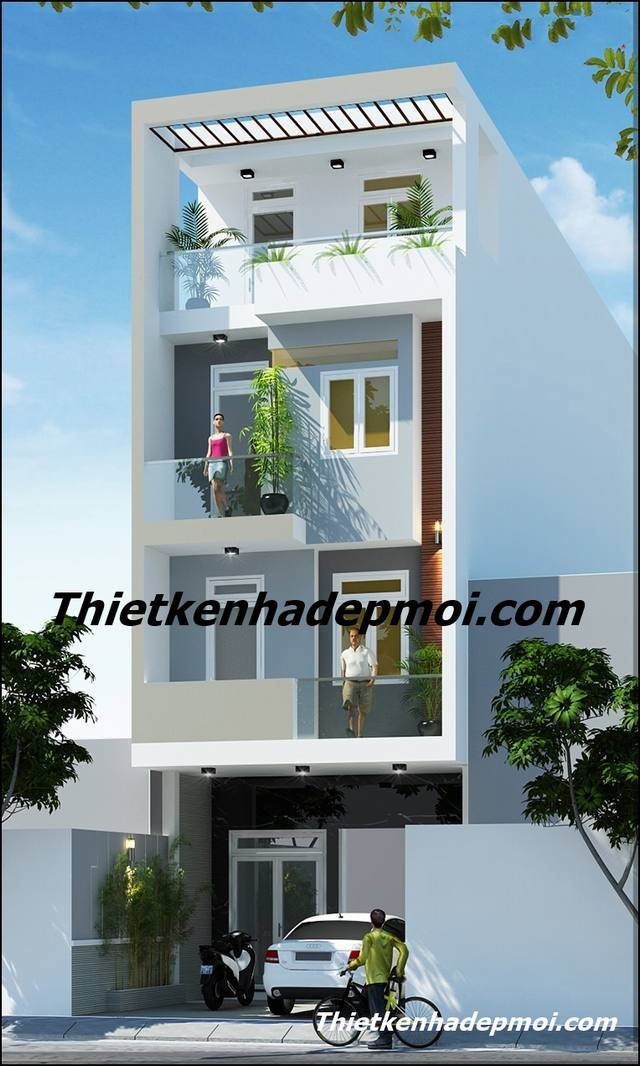 Nhà phố 3 tầng đẹp nhất Việt Nam 2020