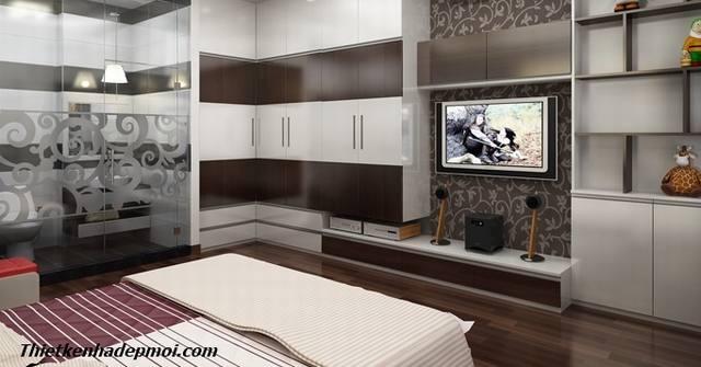 Cách trang trí nội thất phòng ngủ nhà ống 4m cho con trai