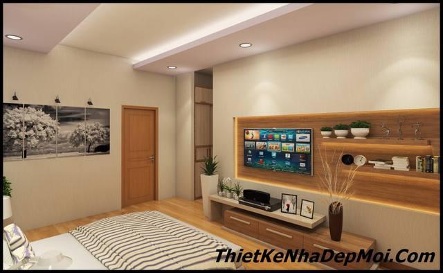 phòng ngủ nhà phố 12m2
