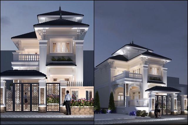 nhà biệt thự mini 2 tầng 8x15m