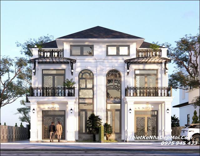 thiết kế nhà liền kề 6m 3 tầng