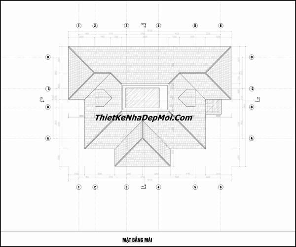 Bản vẽ xây nhà trệt ở quê 1 tấm