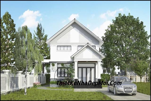 Thiết kế nhà ở 5 phòng ngủ