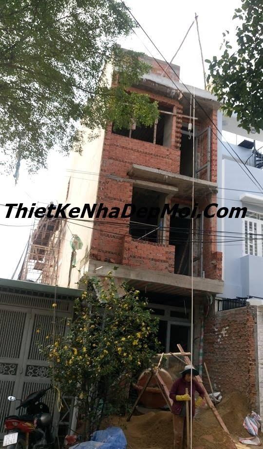giá xây nhà 3 tầng 50m2 tại Sài gòn