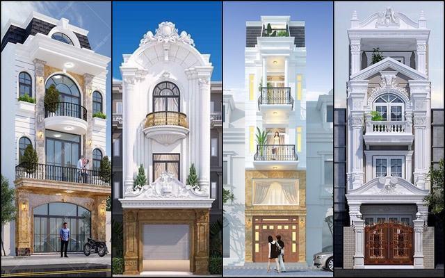 Thiết kế nhà kiểu pháp 2021