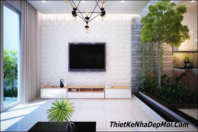 Trang trí nội thất nhà phố 5m tại Đà Nẵng