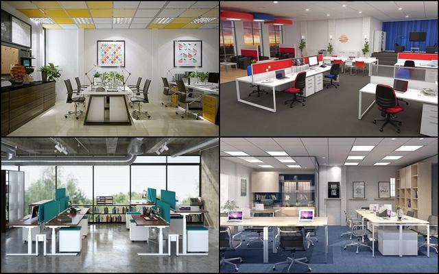 Thiết kế văn phòng nhỏ 30m2