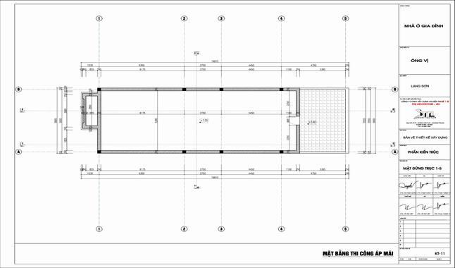 Thiết kế nhà 2 tầng 6x16