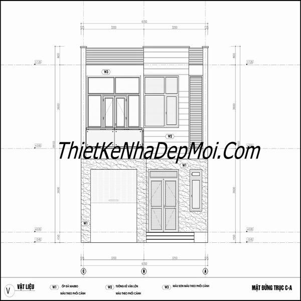 thiết kế nhà theo kiểu hàn quốc