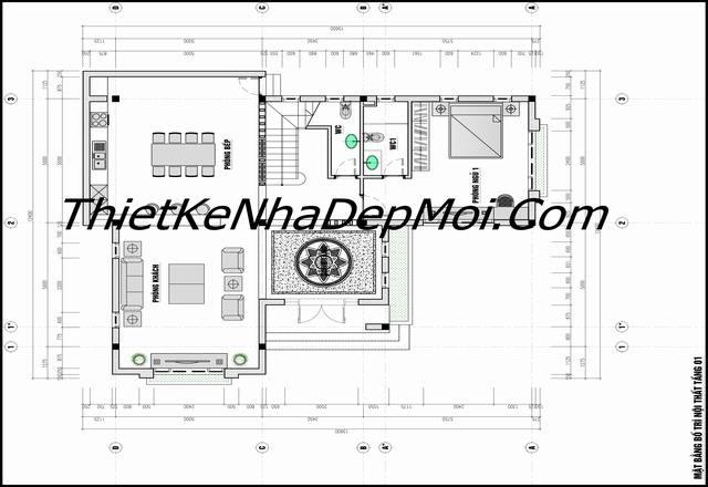 Công năng sử dụng nhà mái thái đơn giản 1 trệt 2 lầu sân thượng ở quê