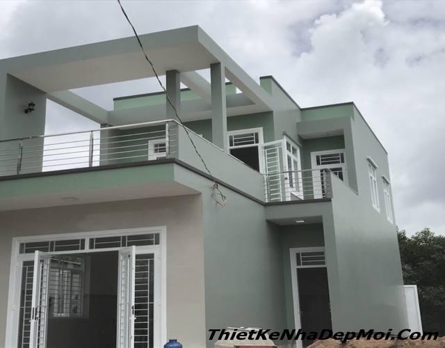 xây nhà 2 tầng 850 triệu giá rẻ 2020