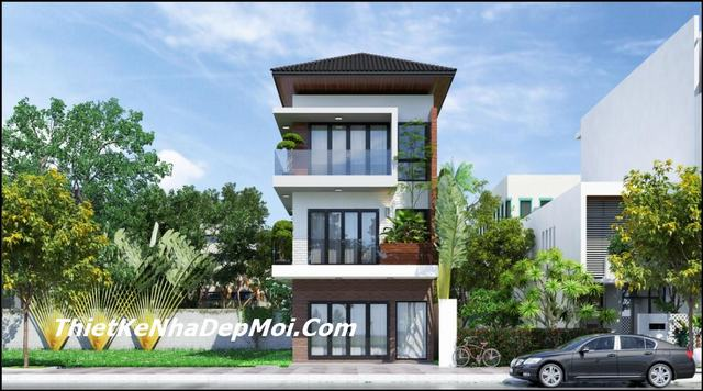 Thiết kế nhà rộng 6.5m