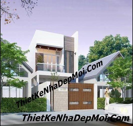 Chi phí xây nhà 2 tầng tiết kiệm giá rẻ