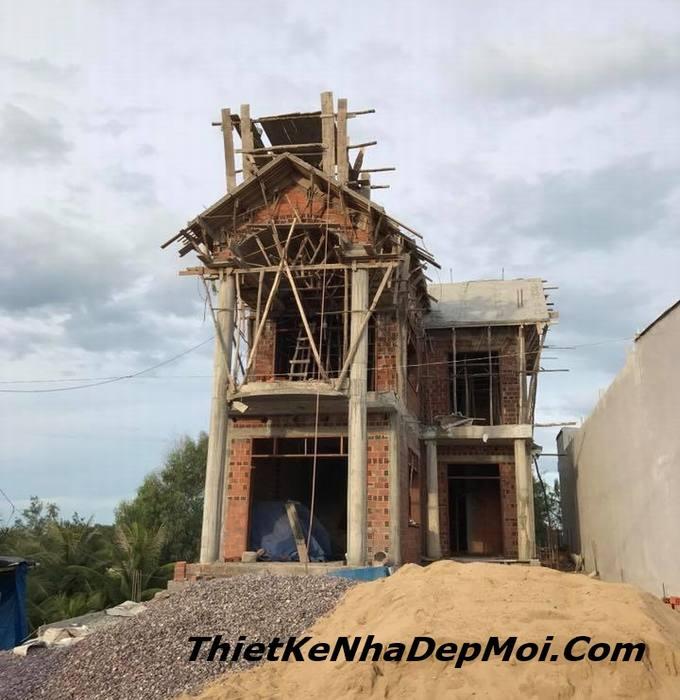 đơn giá xây biệt thự mini tại Bình Định 3.3 triệu/m2