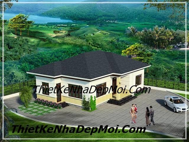Biệt thự đơn giản hiện đại nông thôn