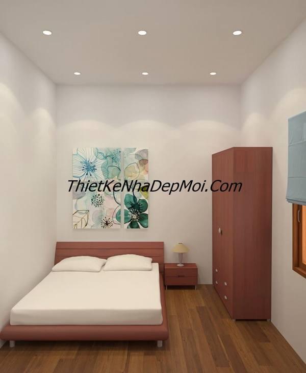 thiết kế nội thất nhà phố 6m giá rẻ năm 2020