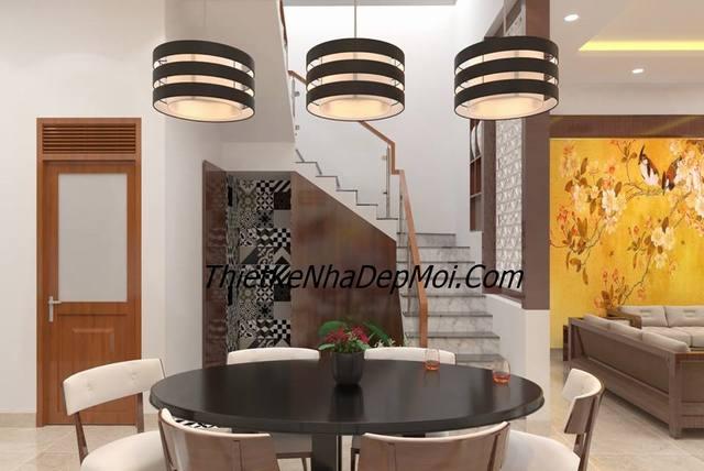 thiết kế phòng bếp nhà đẹp 6m