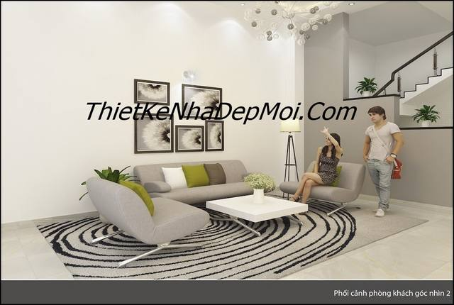 nội thất nhà óng hiện đại sang trọng ở Vũng Tàu Việt Nam