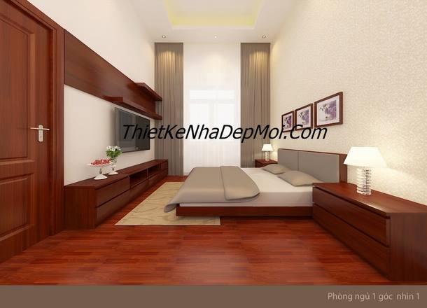 thiết kế nhà 5x20 nội thất