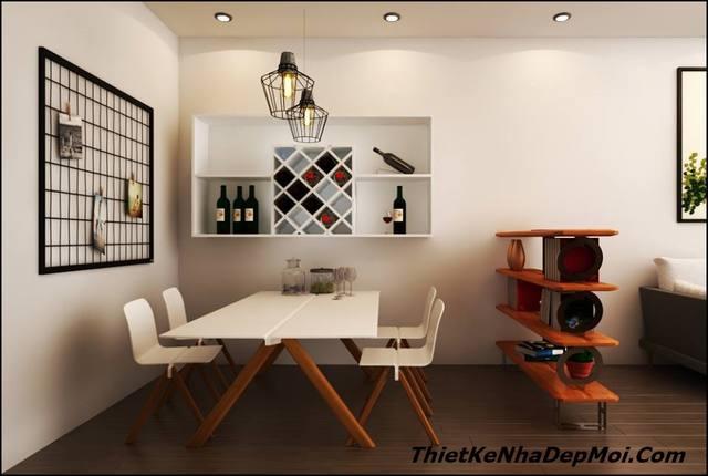 nội thất phòng bếp căn hộ nhỏ